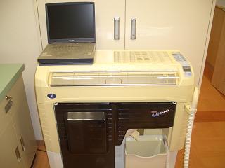 印字機能つき分包機